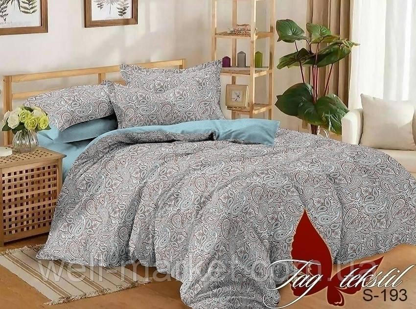ТМ TAG Комплект постельного белья с компаньоном S193
