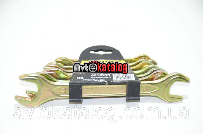 Набор ключей рожковых 8 шт 8-22 мм Sigma