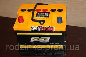 Аккумулятор 50А + левый 480А Fireball Premium