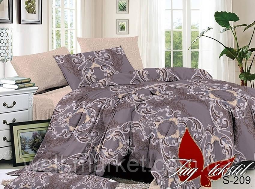 ТМ TAG Комплект постельного белья с компаньоном S209