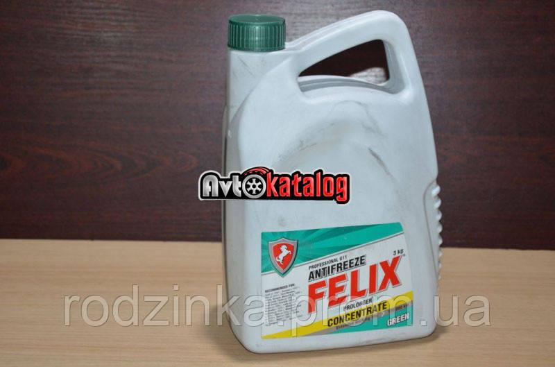 Тосол антифриз Felix 3л -80 зеленый