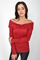 Джемпер женский 115R121 цвет Бордовый 1109791800