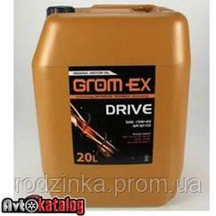 GROM-EX олива 15w40 SF 20л.