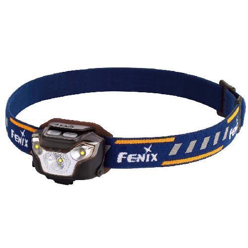 Фонарь налобный Fenix HL26R черный