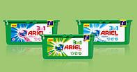 Капсулы Ariel Pods 32шт для цветного / белого / универсал (оригинал)