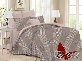 ТМ TAG Комплект постельного белья с компаньоном SL323 Семейный
