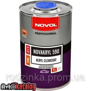 Акриловий лак NOVAKRYL 590 2+1 1л. + Затверджувач H5120 0,5л.