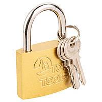 Замок Top Tools навесной 60 мм, 3 ключа