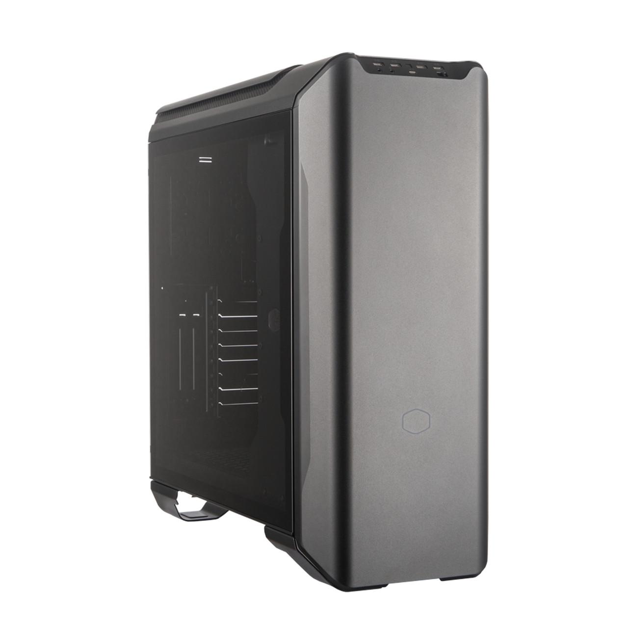 Корпус Cooler Master MasterCase SL600M Black Edition,без БП, Tempered Glass,2xUSB3.0,1xUSB-C,черный