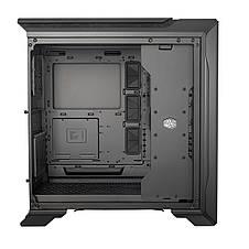Корпус Cooler Master MasterCase SL600M Black Edition,без БП, Tempered Glass,2xUSB3.0,1xUSB-C,черный, фото 3