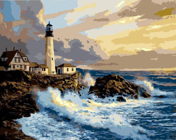 "Картина по номерам. Rainbow Art ""Белый маяк"" GX7682-RA, фото 2"