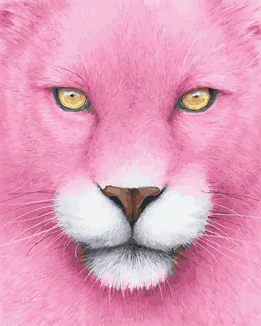 "Картина по номерам. Rainbow Art ""Розовая пантера"" GX27593-RA, фото 2"