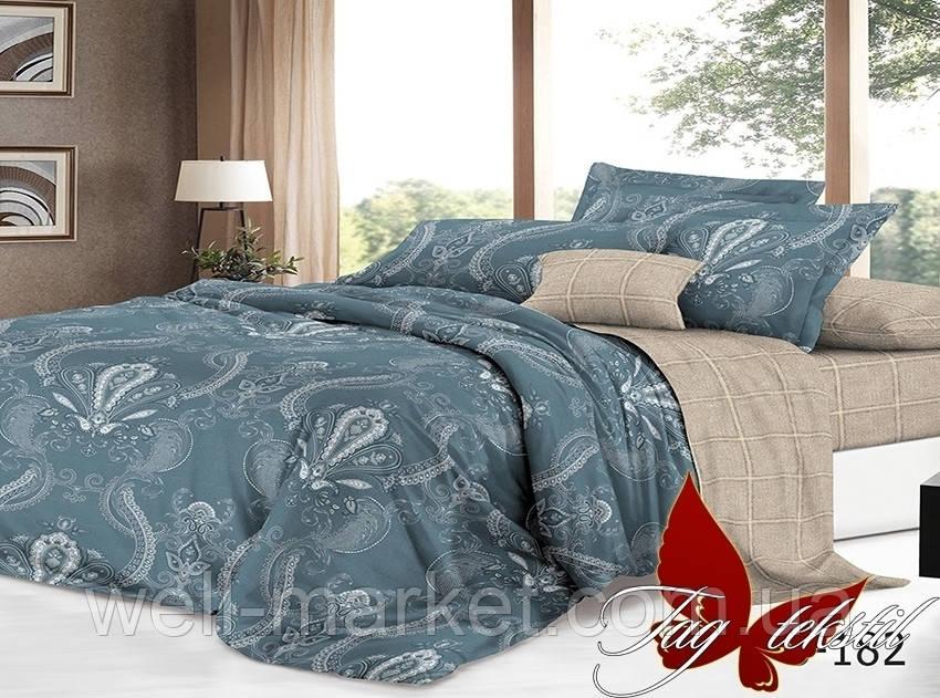 ТМ TAG Комплект постельного белья с компаньоном S182