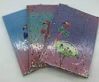 Блокнот А5/72лин Фламинго с блестки  7009