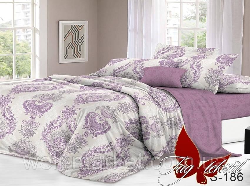 ТМ TAG Комплект постельного белья с компаньоном S186