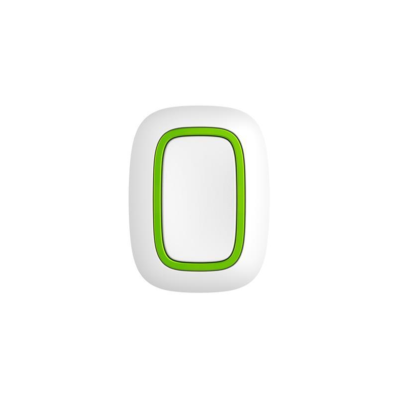 Беспроводная тревожная кнопка Ajax Button белая