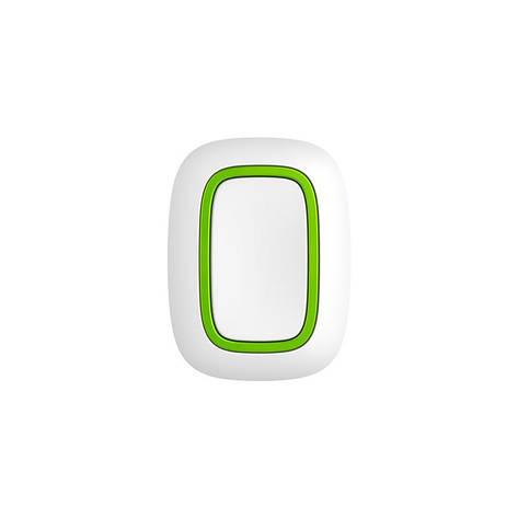 Беспроводная тревожная кнопка Ajax Button белая, фото 2