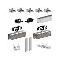 Valcomp Комплект Подвесной Раздвижной Системы Для Стеклянной Двери Valcomp Herkules Glass До 100 Кг (213-370)