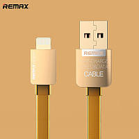 USB кабель Remax Gold Edition для iPhone 5, 5S, 6, 6 Plus, iPad 4, Air, mini