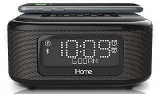 Акустическая док-станция iHome IBTW23B, Qi Wireless Charging, BT, USB, Mic