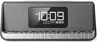 Акустическая док-станция iHome IBN350G, Qi Wireless Charging, BT, NFC, USB, Aux Mic