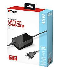 Адаптер питания Trust Primo 45W Universal Laptop Charger BLACK, фото 2
