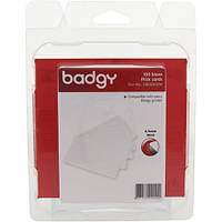 Пластиковые карты 0.76мм для принтера Badgy100/200 (100 штук)