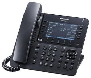 Проводной IP-телефон Panasonic KX-NT680RU-B Black для АТС Panasonic KX-NS/NSX, фото 2