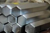 Шестигранник стальной Полтава сталь 20 35 45 40х 35хгса металлический с порезкой по метру