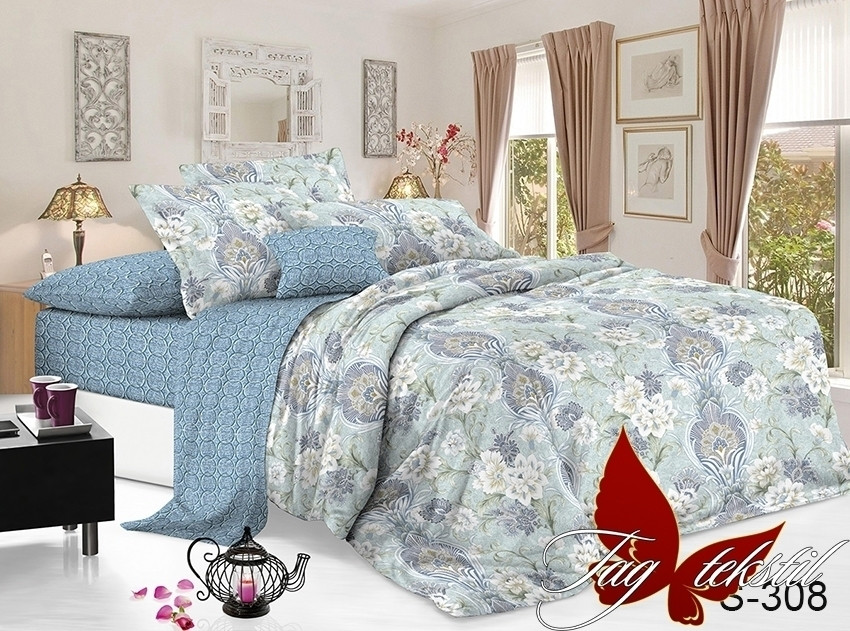 ТМ TAG Комплект постельного белья с компаньоном S308