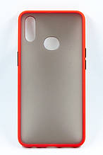 Панель DENGOS Matte для Samsung Galaxy A10s (red)