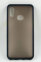 Панель DENGOS Matte для Samsung Galaxy A10s (blue)