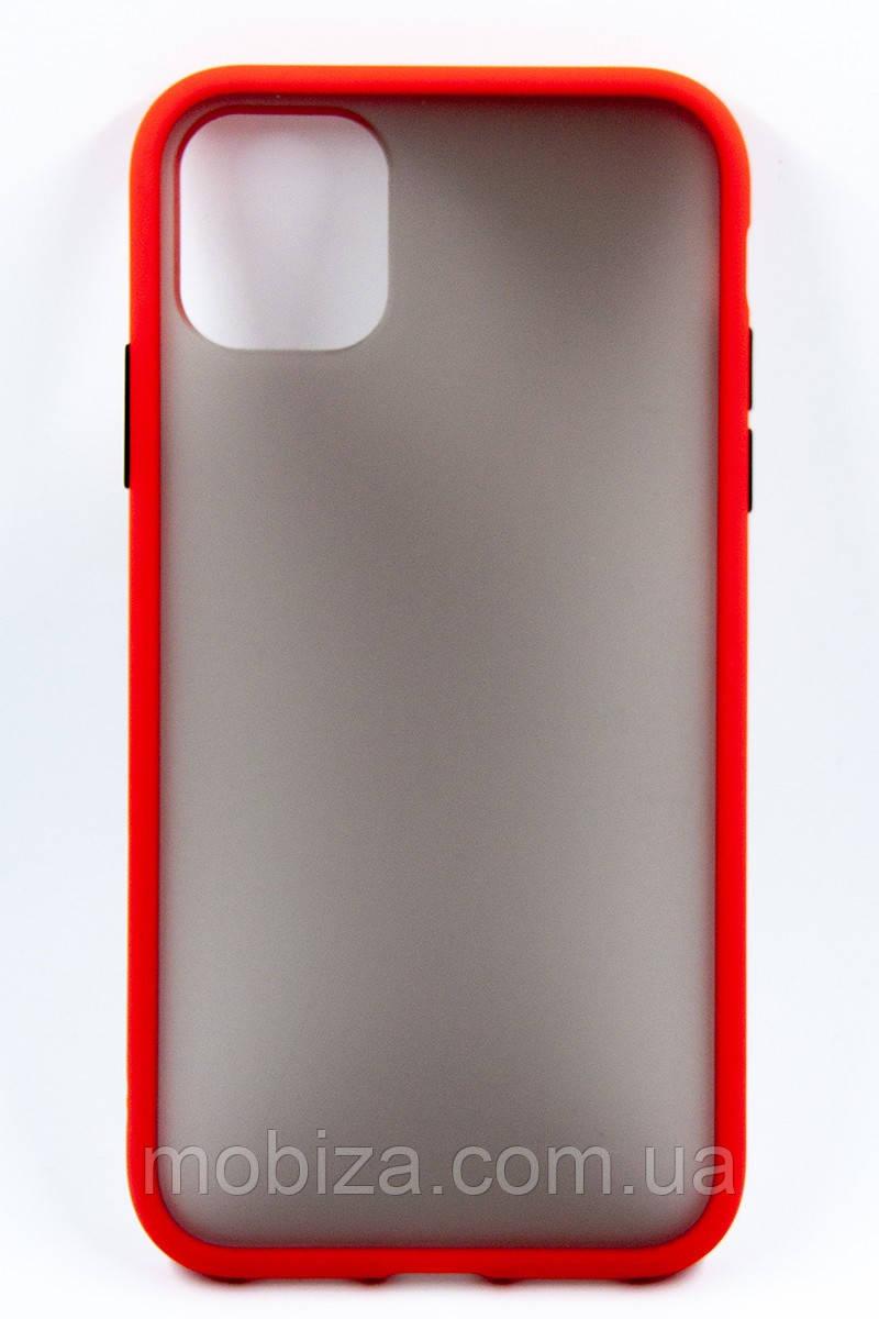 Панель DENGOS Matte для iPhone 11 (red)