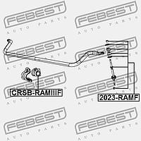 ВТУЛКА ПЕРЕДНЕГО СТАБИЛИЗАТОРА D29.3 CRSB-RAMIIIF