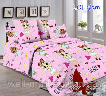 ТМ TAG Комплект постельного белья LOL glam