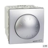 Выключатель поворотный  Schneider Unica 1-10 Вт алюминий (MGU3.510.30)