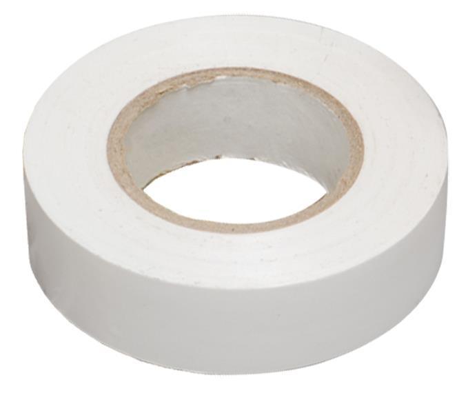 Изолента DKC 0.13X15 10м, белая