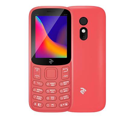 Мобильный телефон 2E E180 2019 DUALSIM Red, фото 2