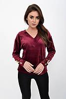 Джемпер женский 112R472 цвет Бордовый 1109796377