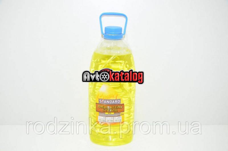 Жидкость в бачок омывателя  ДК Standart 5л лето лимон