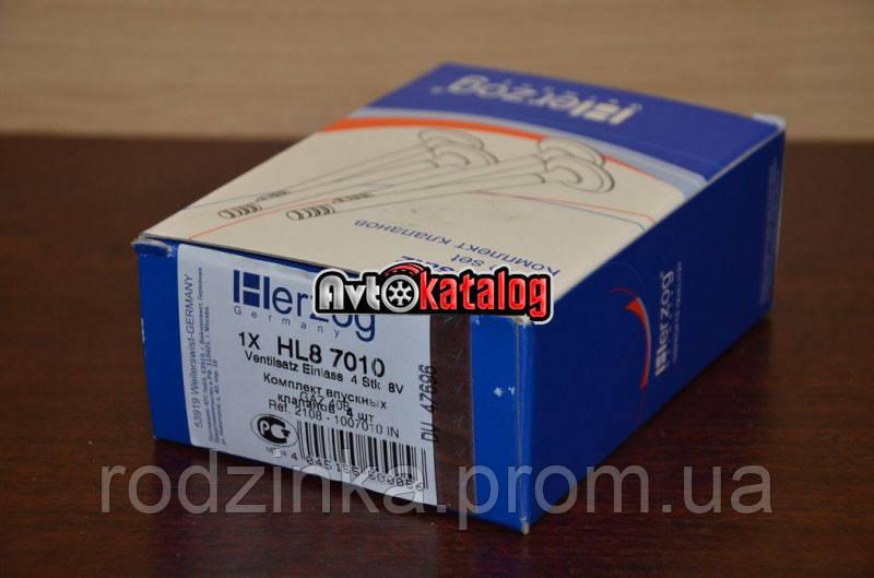 Клапан 21083 1.5 впускной (к-т 4 шт) Herzog