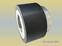Обрезинивание ролика протяжки бумаги ø60хø42х25 мм, упаковочной пленки