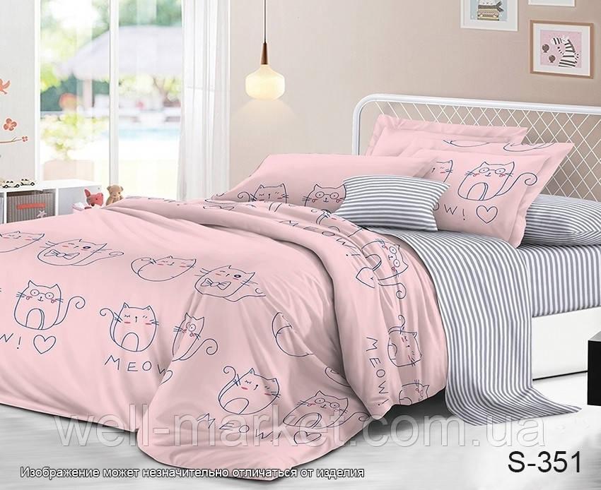 ТМ TAG Комплект постельного белья с компаньоном S351