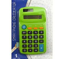 Калькулятор карманный Klerk 402, 8 разрядов, плоский, 113х65х18мм