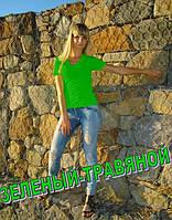 "Футболка ""Неон"" зеленый"