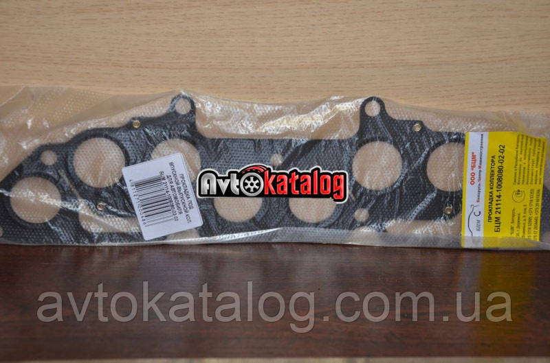 Прокладка коллектора 21114 1.6 8V 2-х слойная БЦМ