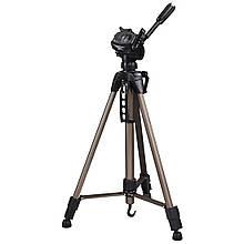"""Штатив для фотокамер Hama """"Star 61"""", 1/4"""" (6.4 мм), 60-153 см, цвет шампань"""