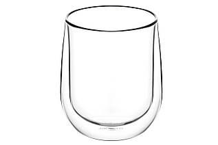 Набор чашек Ardesto с двойными стенками для латте, 360 мл, 2 шт, боросиликатноестекло