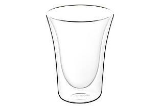 Набор чашек Ardesto с двойными стенками для латте, 300 мл, 2 шт, боросиликатное стекло