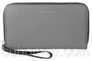 Бумажник Tucano Sicuro Pochette (серый)